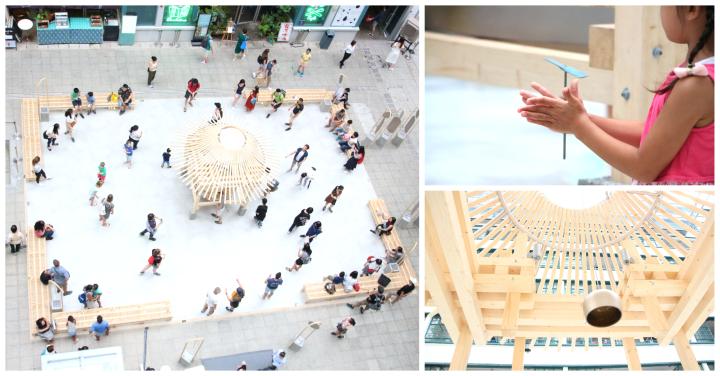 【社區設計】翩翩竹蜻蜓 互動裝置引發「共鳴」